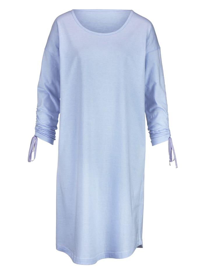 Nachthemd Simone Flieder::Weiß