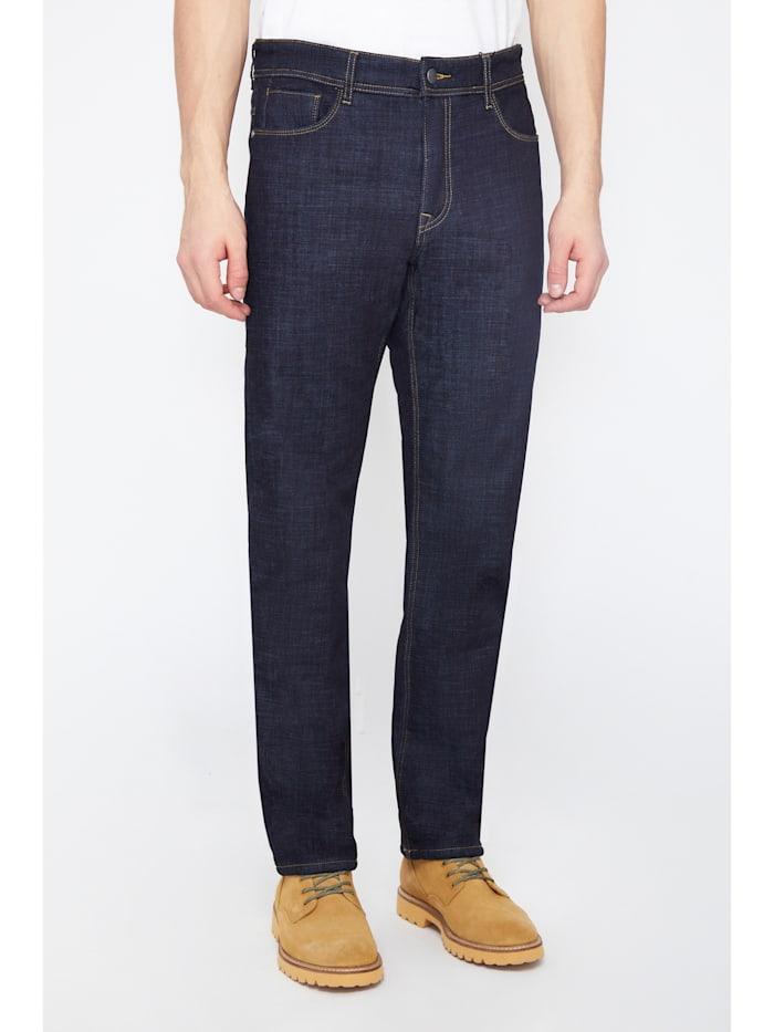 finn flare - Jeans in klssischer 5-Pocket-Form  dark blue
