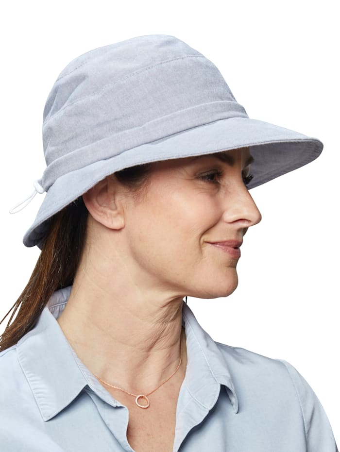UV-Schutz Hut Faustmann blau