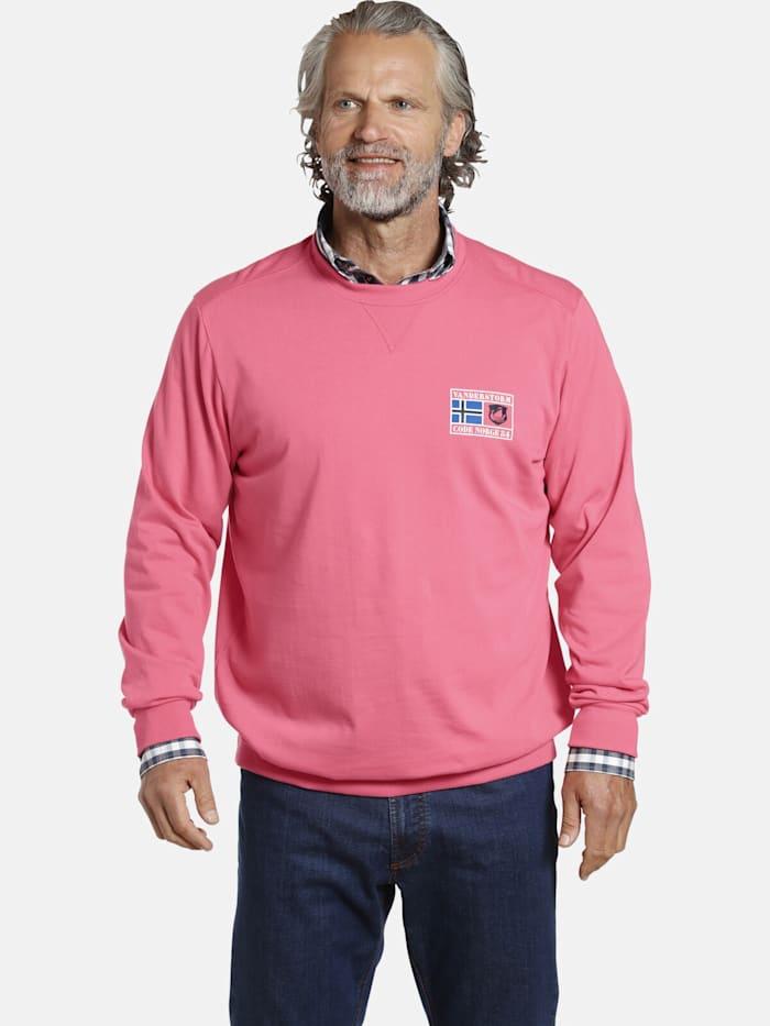 jan vanderstorm -  Sweatshirt DEGENAR  pink