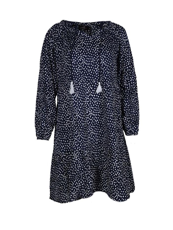 zwillingsherz - Sommerkleid Kleid Jana  marine/weiß