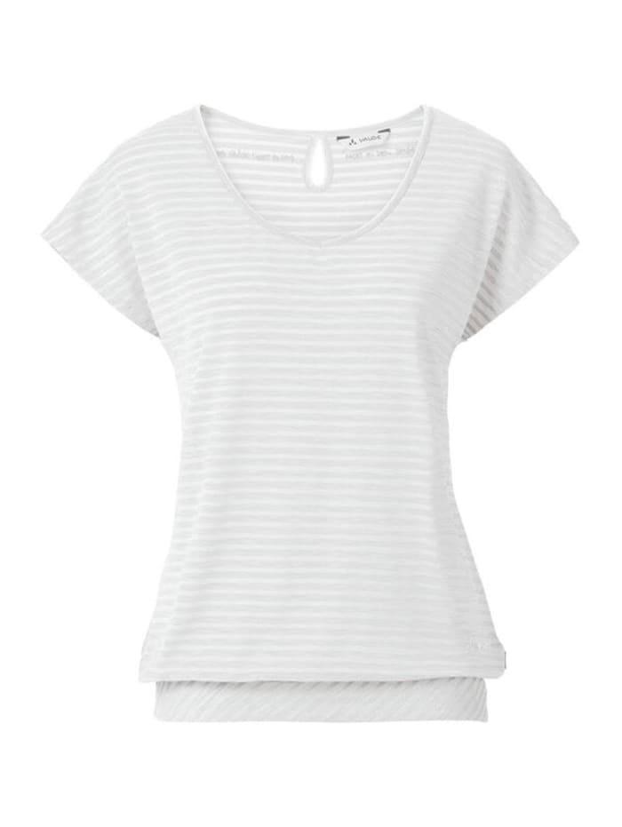 vaude -  Tshirt Smoker III  Weiß