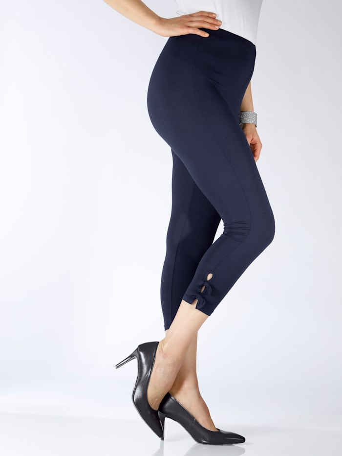 7 8 Leggings m. collection Marineblau