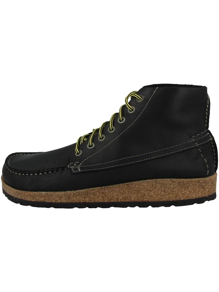 birkenstock - Boots Marton geöltes Nubukleder normal  schwarz