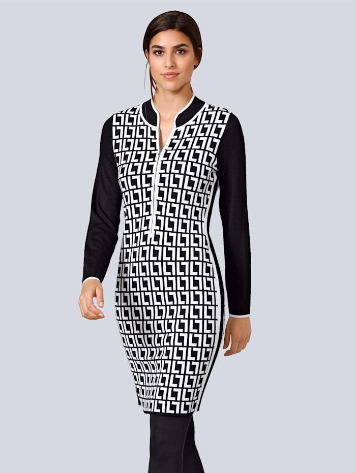 alba moda - Kleid  Schwarz::Weiß