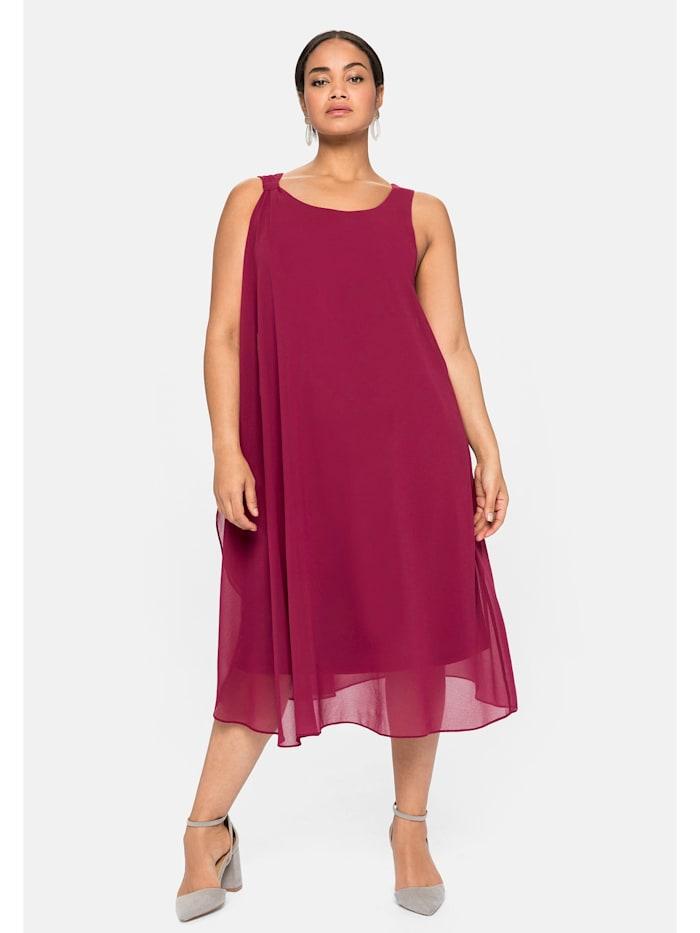 sheego -  Kleid  himbeere
