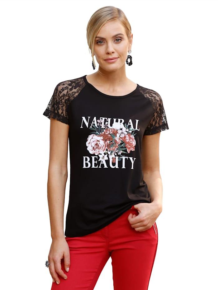 Shirt AMY VERMONT Zwart::Wit