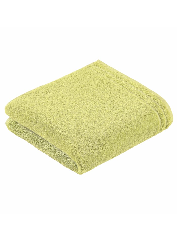 Handdoekenset effen Vossen groen