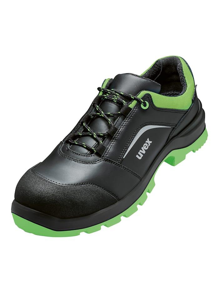 uvex - Sicherheitsschuhe  2 xenova® Halbschuh S3 SRC  schwarz/grün