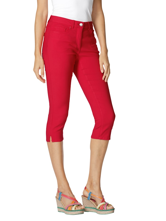 Capri-jeans AMY VERMONT Rood