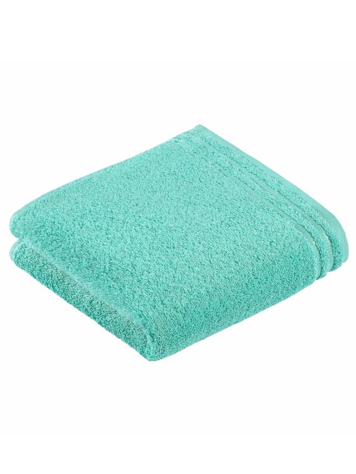 Handdoekenset effen Vossen petrol