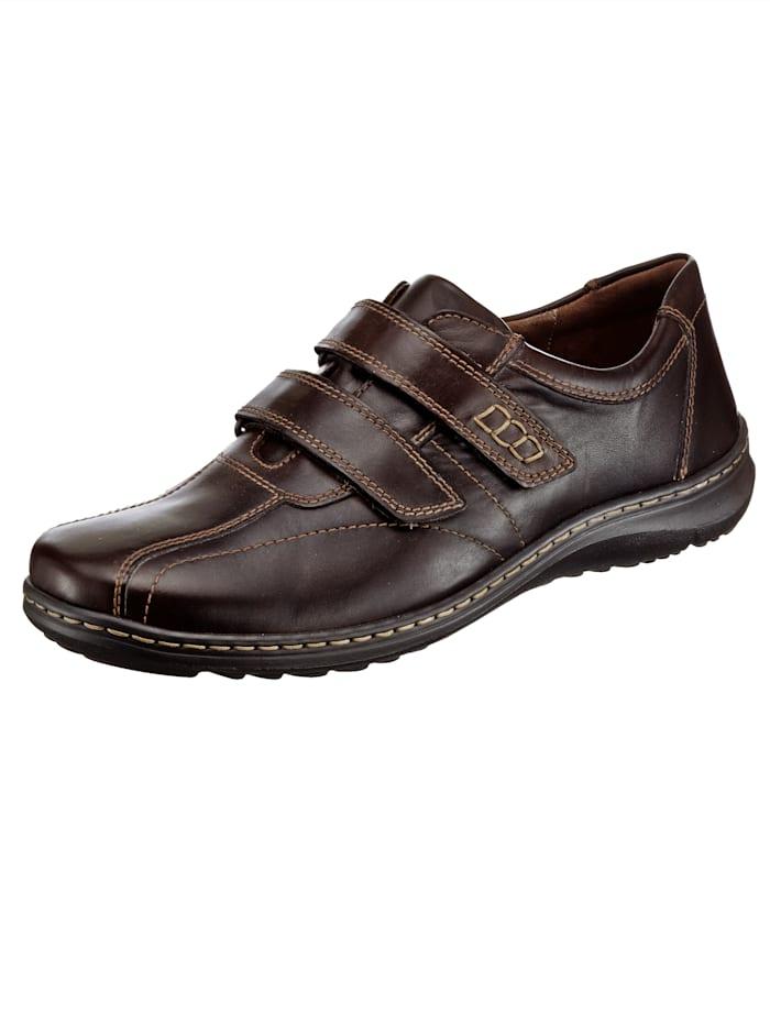 Is het tijd voor nieuwe schoenen? wat dacht u van een instapper van waldläufer? platte hak van 3 cm. ...