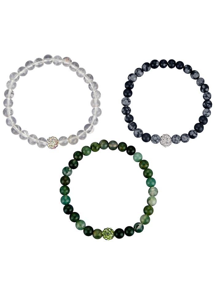 3-delige armbandenset KLiNGEL Multicolor