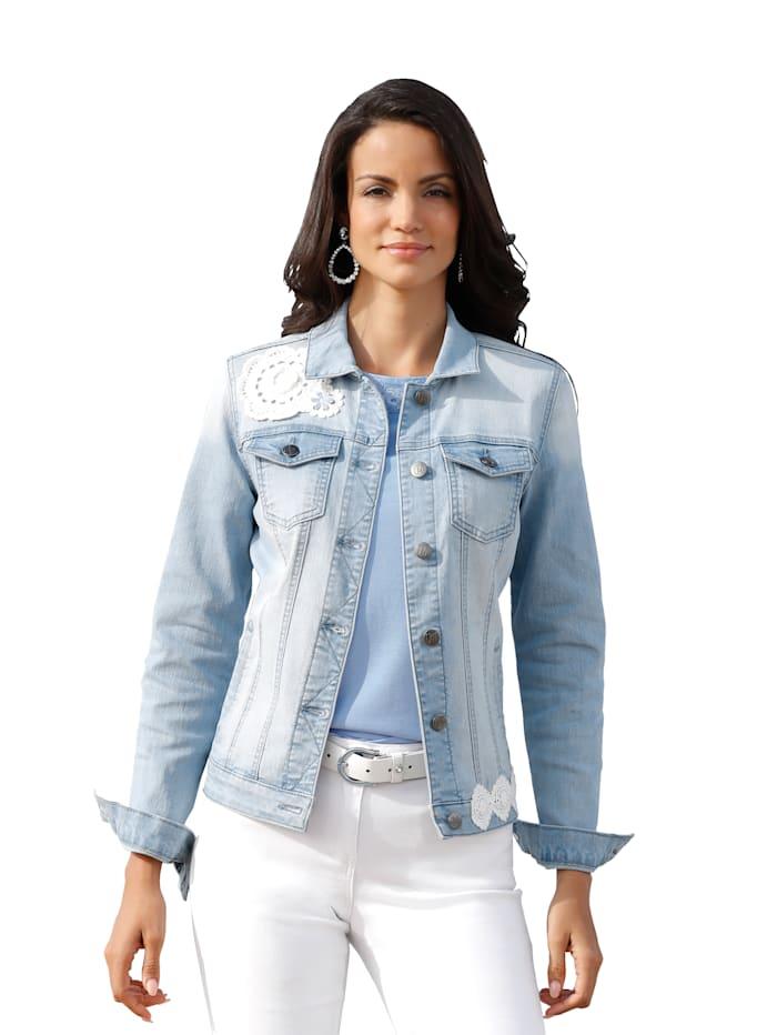 Spijkerjasje AMY VERMONT Light blue