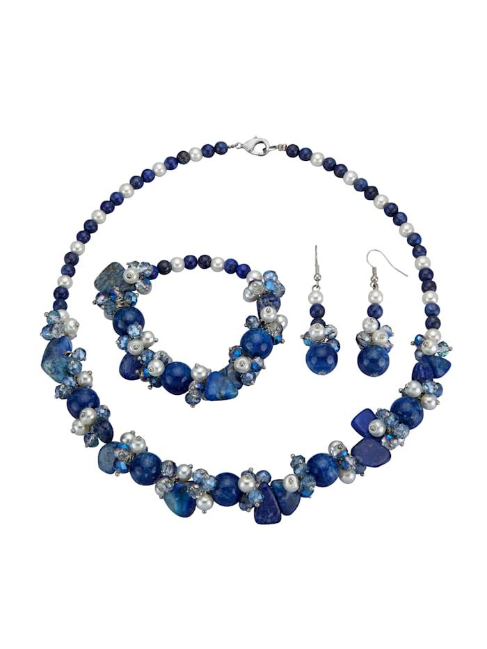 3-delige sieradenset KLiNGEL Blauw