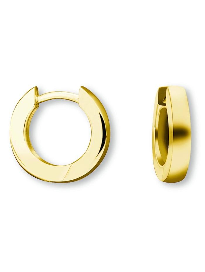 one element - Damen Schmuck Orhringe / Creolen aus 585 Gelbgold  gold