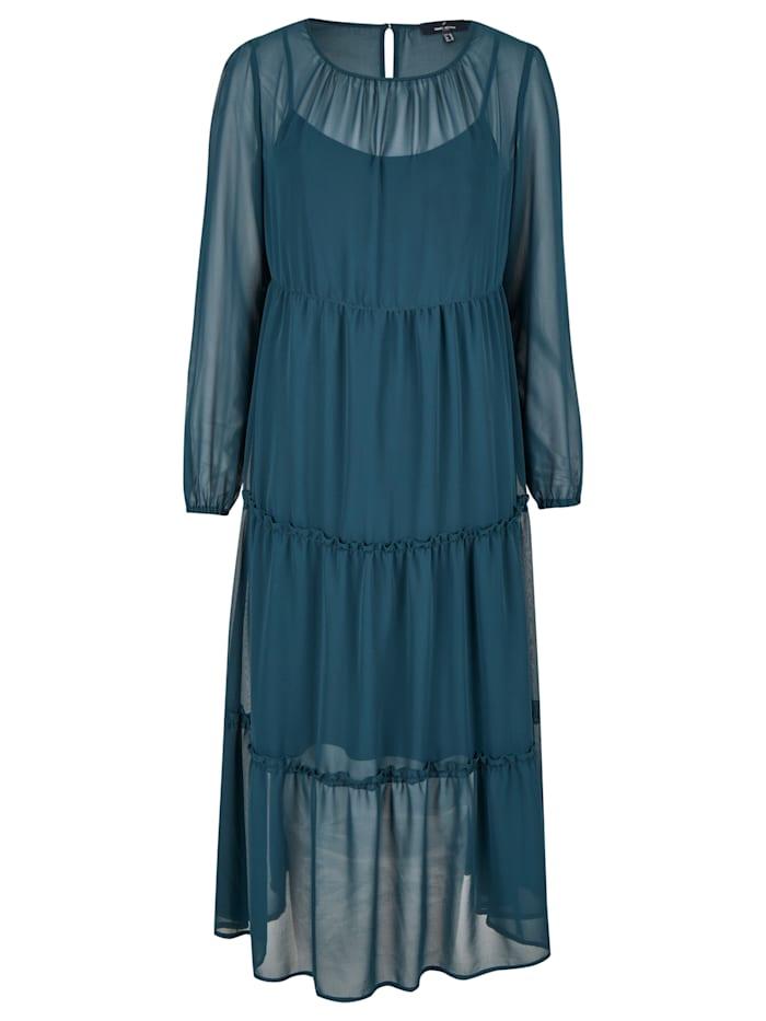 daniel hechter - Modisches Kleid mit vielen Details  dark olive