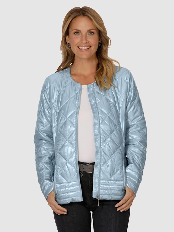 Gewatteerde jas MONA Lichtblauw