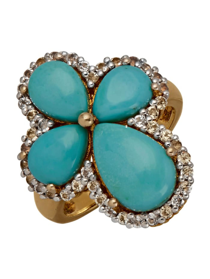 Damesring KLiNGEL Turquoise