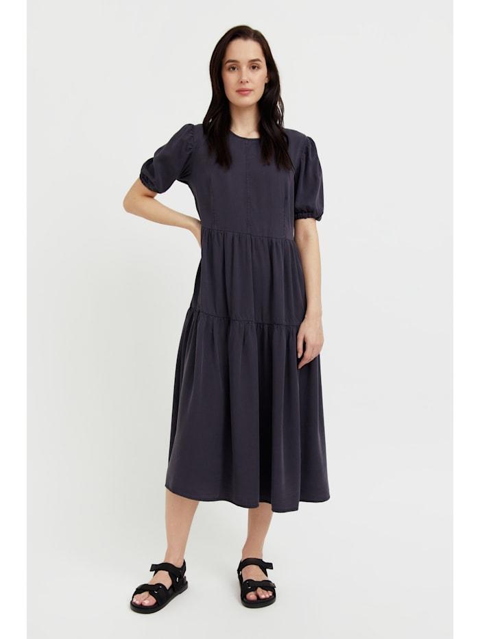 finn flare - Jeanskleid mit ausgestelltem Schnitt  dark grey