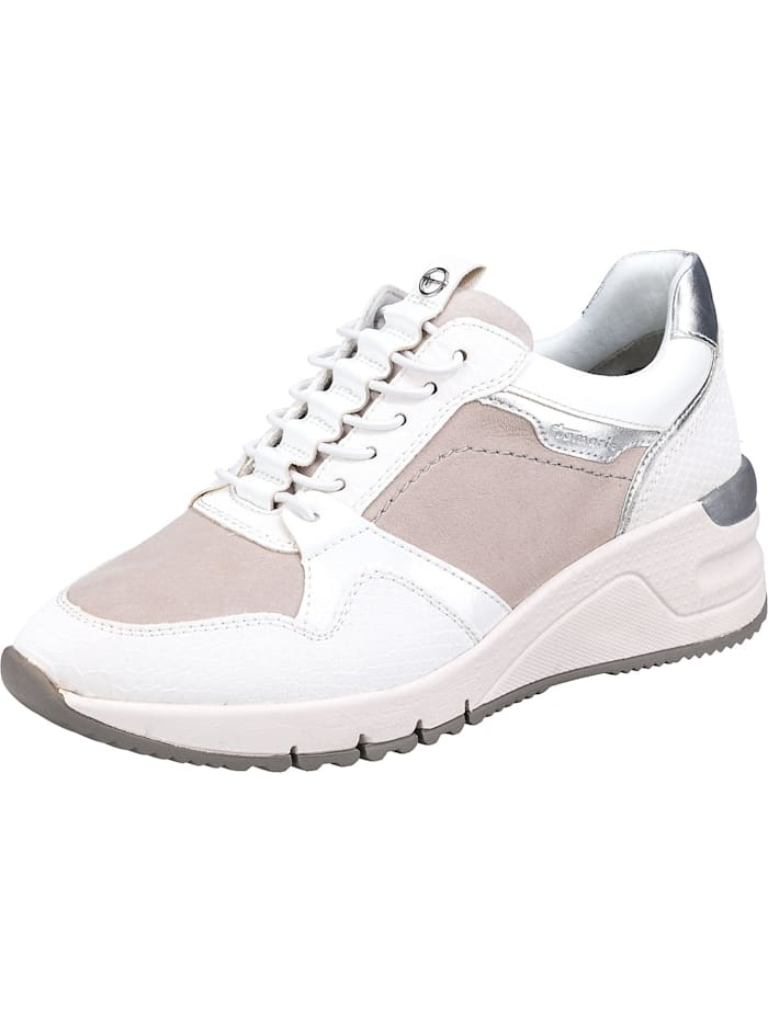 tamaris - Sneakers Low  weiß-kombi