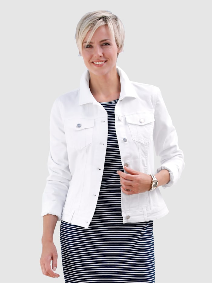 dress in - Jeansjacke  Weiß