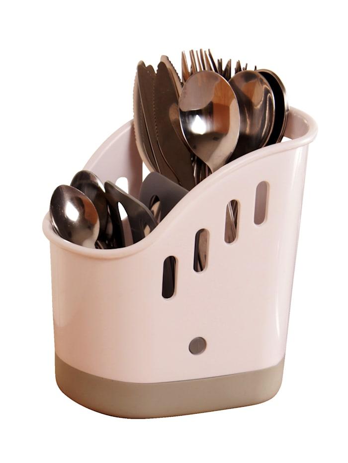 Afwasbutler voor bestek GHZ grijs