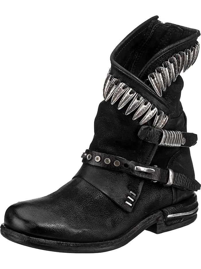 a.s.98 - 516230-0202 Biker Boots  schwarz