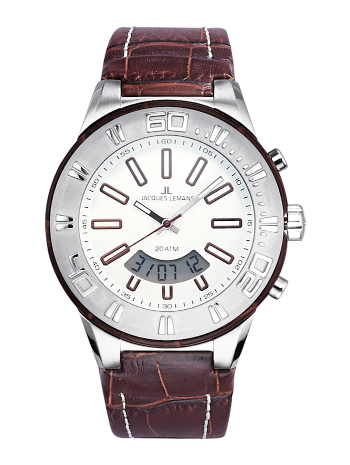 Horloge Jacques Lemans Bruin