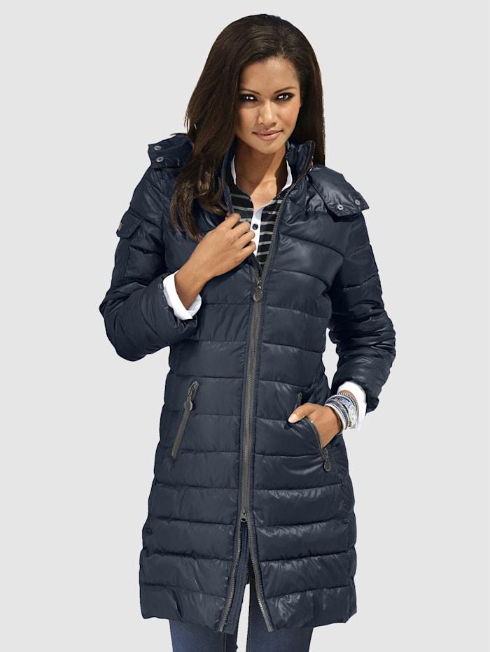 Alba moda Gewatteerde jas  Donkerblauw