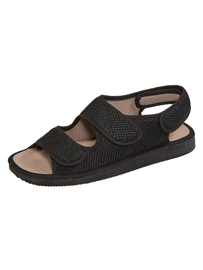 Sandales à auto-agrippant Naturläufer Noir