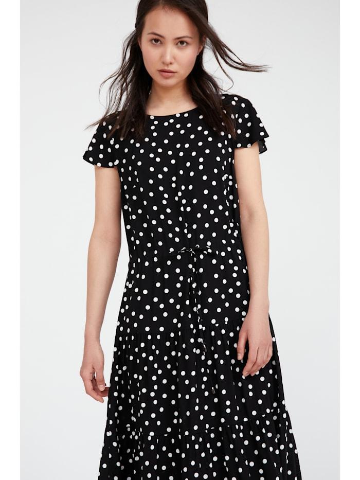 finn flare - Maxi-Kleid mit Punktemuster  black