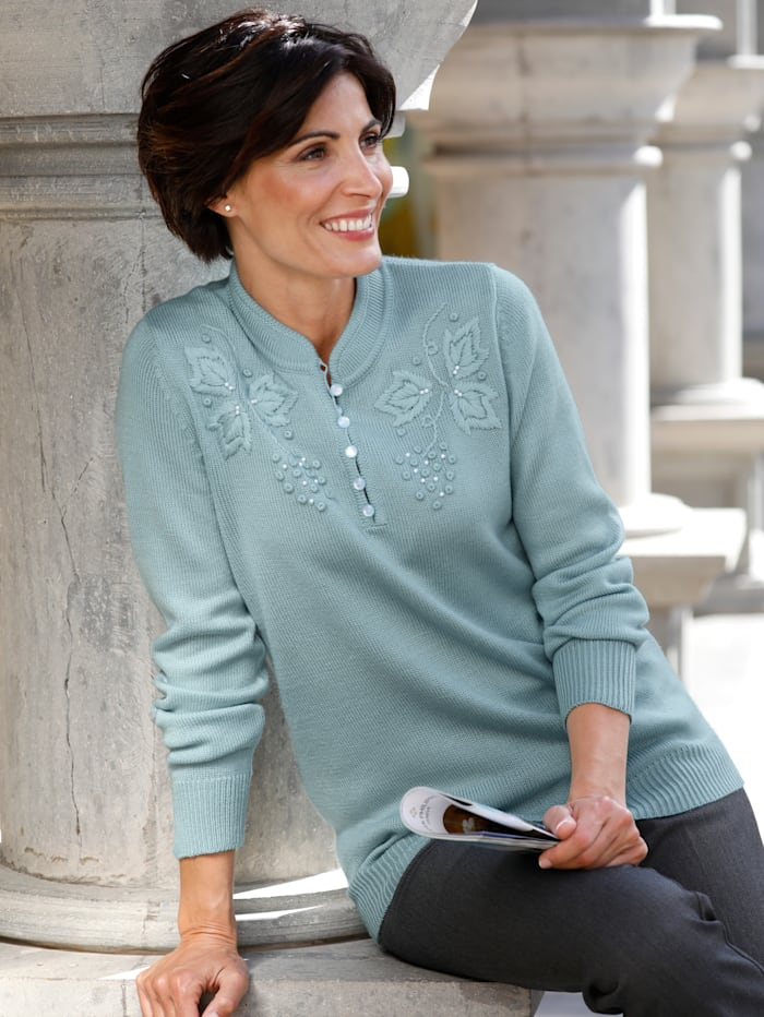 Pullover Paola mint
