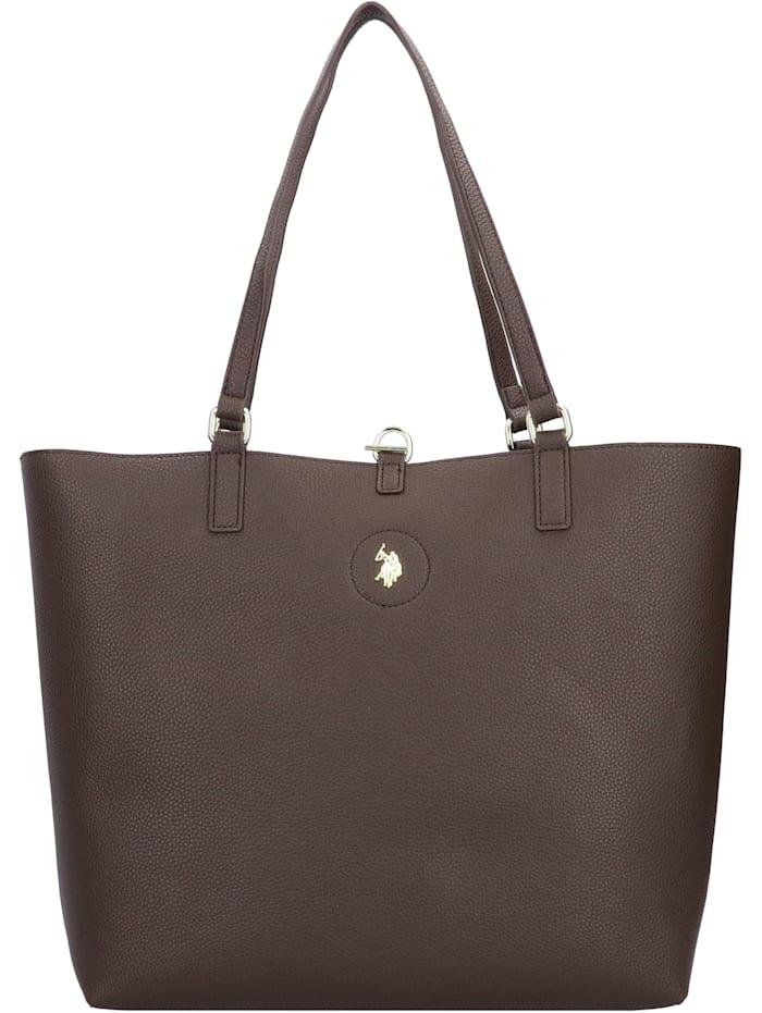 u.s. polo assn. - Rogersville Shopper Tasche mit Wendefunktion 34 cm  brown