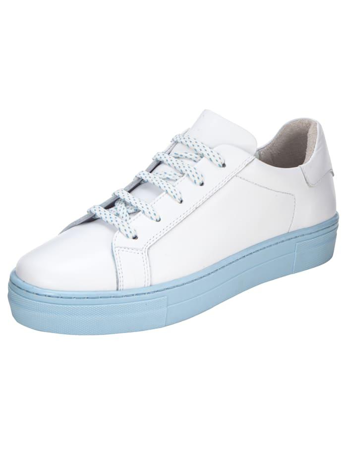 Sneaker Liva Loop Wit::Lichtblauw