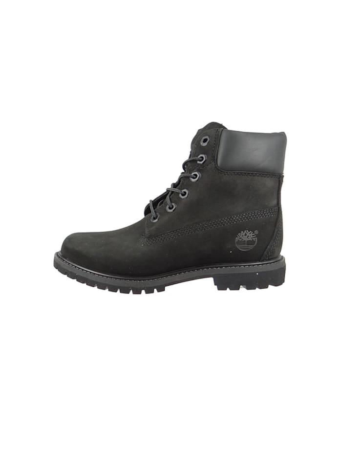 timberland - Damen Stiefel 6 Inch Premium Boot Leder Black Waterbuck Schwarz 8658A  Black
