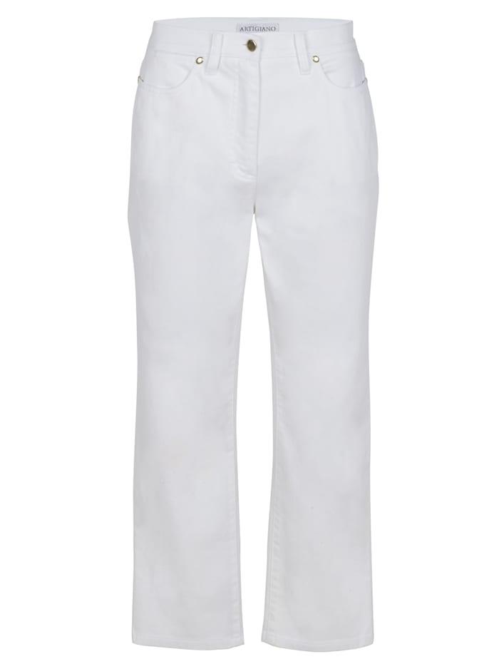 7/8-jeans Artigiano Wit