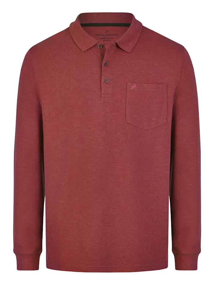 daniel hechter - Essential Polo-Shirt  dark red
