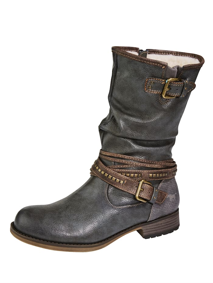 mustang - Stiefel  Anthrazit
