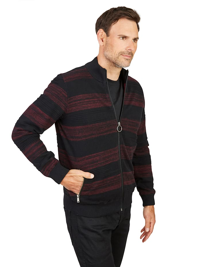 Cardigan Hajo bordeaux