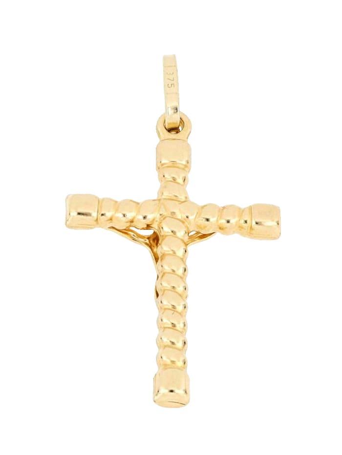 Hanger Kruis Grazielli Geelgoudkleur