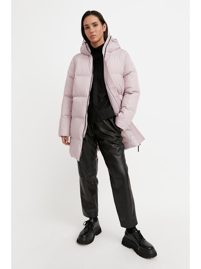 finn flare - Steppmantel mit kuscheliger Kapuze  pink