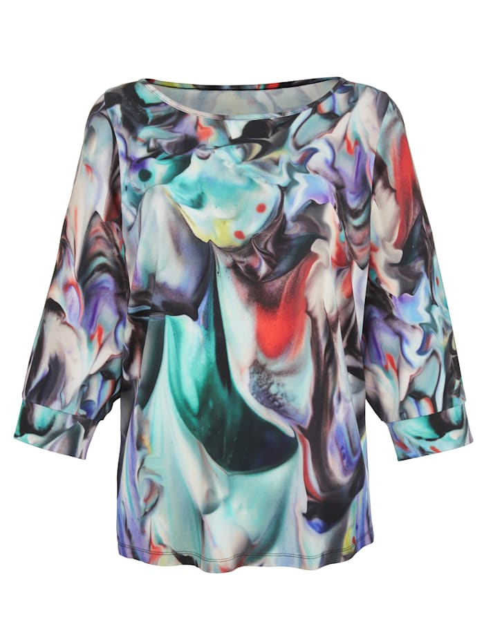 Shirt AMY VERMONT Blauw::Turquoise::Rood::Zwart