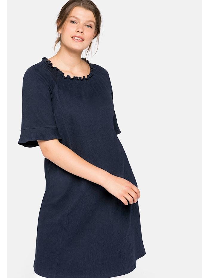 sheego -  Jerseykleid  nachtblau