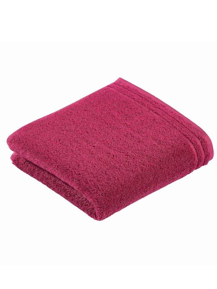 Handdoekenset effen Vossen fuchsia