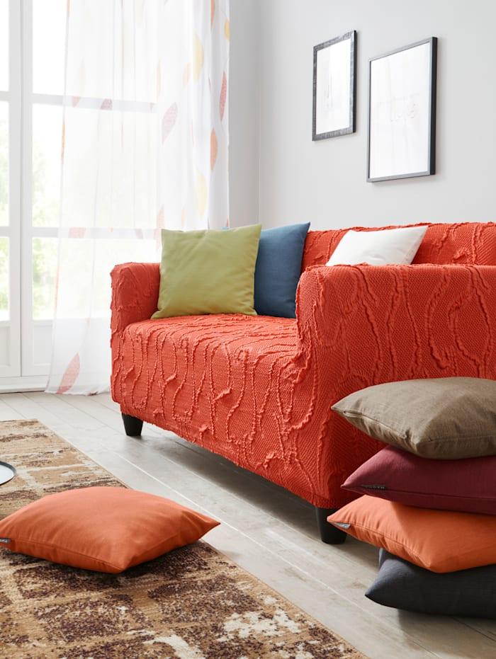 Elastische meubelhoezen Webschatz terra
