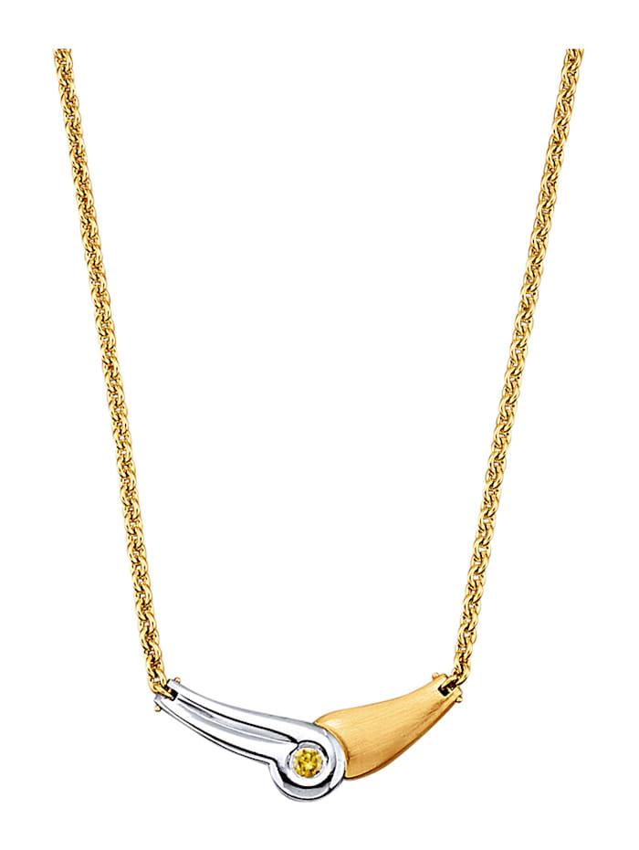 Image of Collier Amara Diamant Gelb