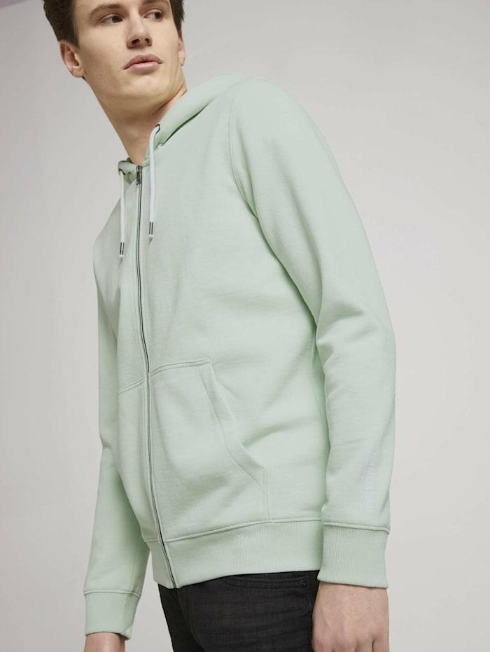 tom tailor denim - Sweatjacke  smooth green