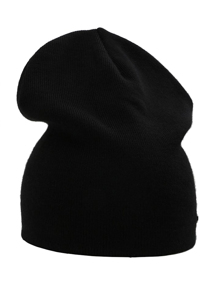 sätila of sweden - Beanie S.F. in Feinstrick-Optik  black