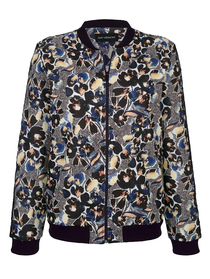 Sweatjacke, Amy Vermont multicolor
